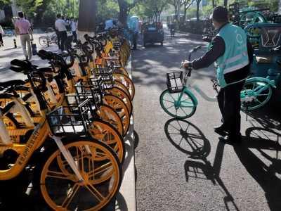 通勤健身自行车 一起骑共享单车上下班吧